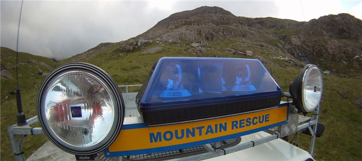 Blue Lights Llanberis Mountain Rescue