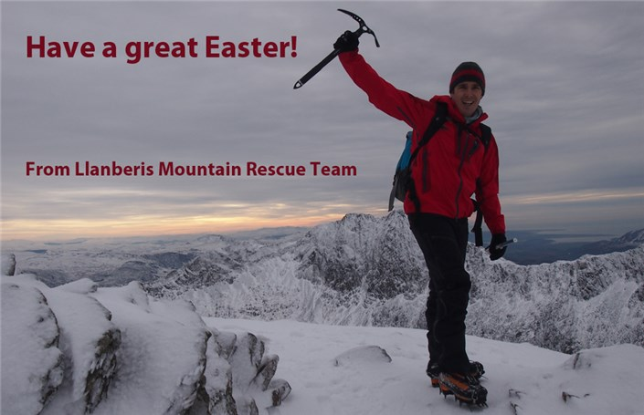 Happy Easter from Llanberis Mountain Rescue